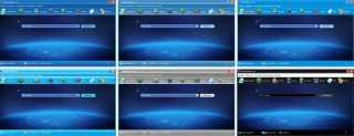 Скриншоты со скинами